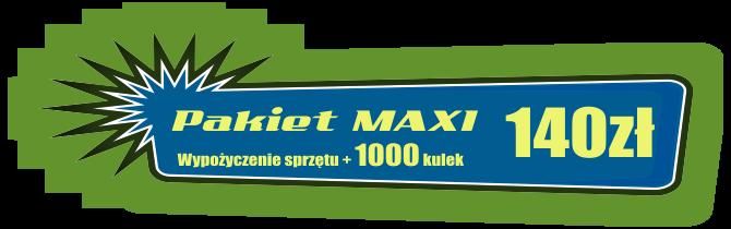 Paintball Najtaniej Warszawa - Paintball warszawa ceny: MAXI 140
